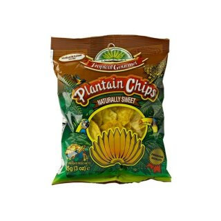 Platanos Chips dulce natural 85g